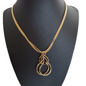 ☘️3/$30☘️ NWT NAPIER Beautiful Twisty Necklace